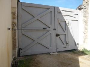 Porte porche de château