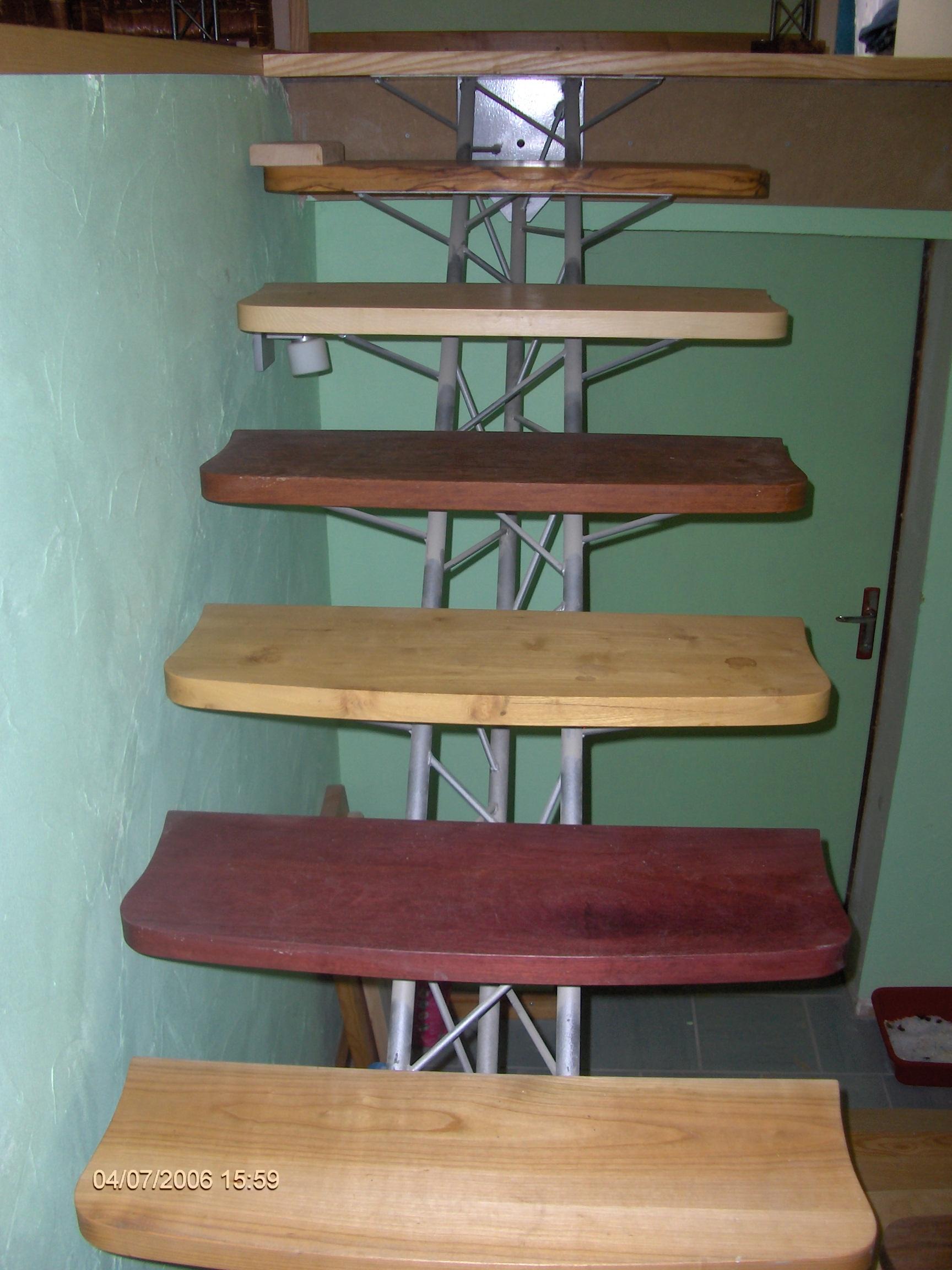 Escalier multi essences