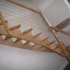 Escalier rambarde câblée