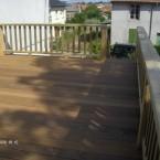 Grande terrasse bois